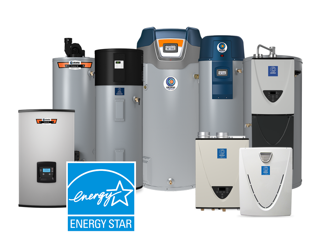 State Water Heaters' ENERGY STAR® Products