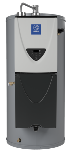 tx1 integrated commercial tankless on tank